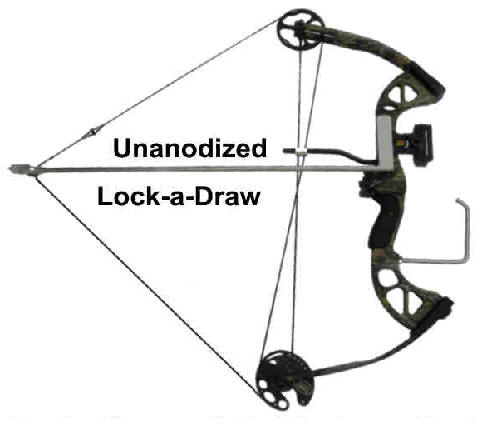 Lock-a-Draw keeping bow drawn